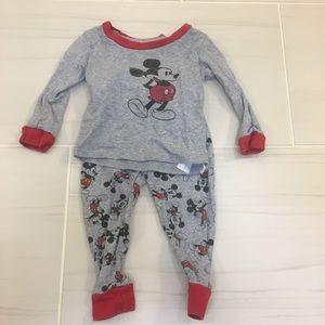 Disney Baby Mickey Mouse pajama set